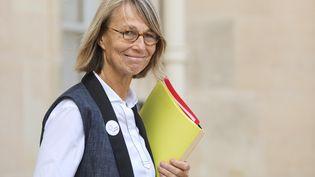 La ministre de la Culture, Françoise Nyssen, à l'Elysée, à Paris, après le Conseil des ministres du 19 septembre 2018. (LUDOVIC MARIN / AFP)