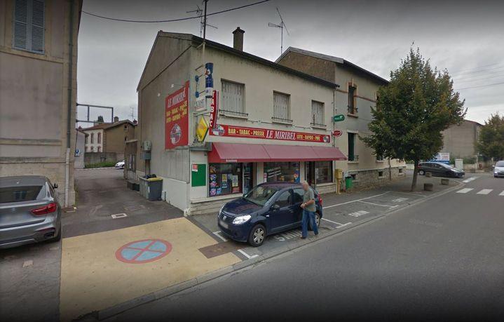 Le bar Le Miribel à Verdun (Meuse) en septembre 2016 sur Google Street View. (GOOGLE STREET VIEW)
