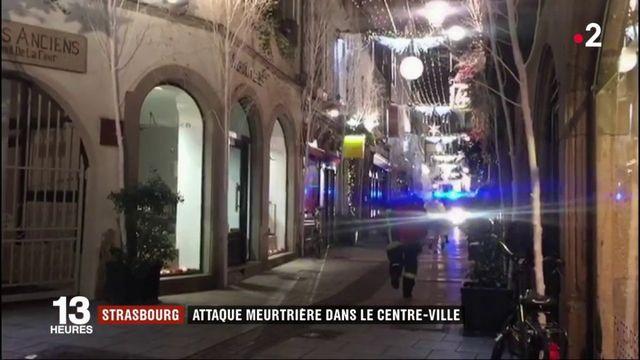 Récit en images de l'attaque de Strasbourg