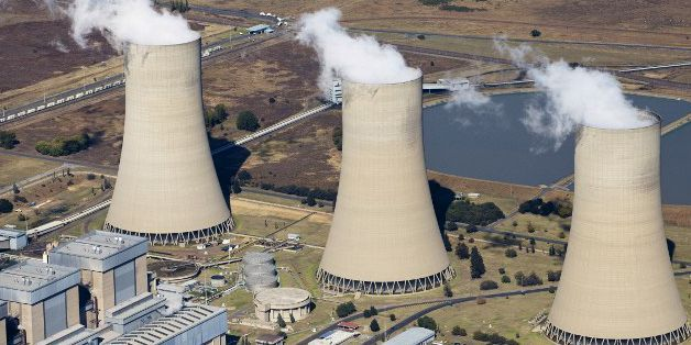 Centrale électrique à charbon de Lethabo en Afrique du Sud (Photo AFP/Richard Du Toit)