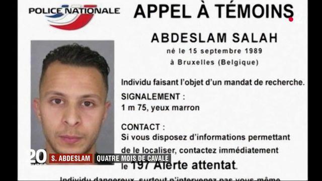 Salah Abdeslam : quatre mois de cavale