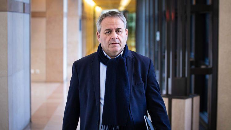 Xavier Bertrand, président de la région Hauts-de-France, le 11 mars 2019. (ALEXIS SCIARD  / MAXPPP)