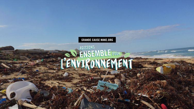 La plateforme de mobilisation citoyenne Make.org a lancé le 5 novembre une grande consultation dédiée aux actions concrètes pour protéger l'environnement. (Make.org)