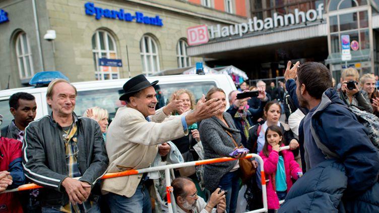 (En Allemagne, la plupart des réfugiés sont arrivés par la gare de Munich © MaxPPP)