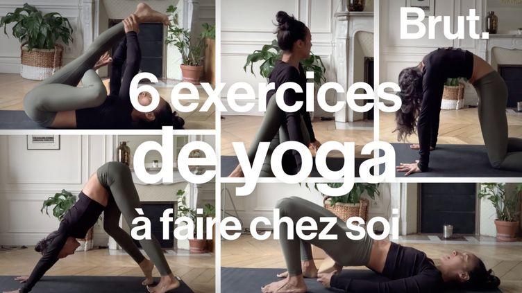 VIDEO. Six exercices simples de yoga à faire chez soi (BRUT)