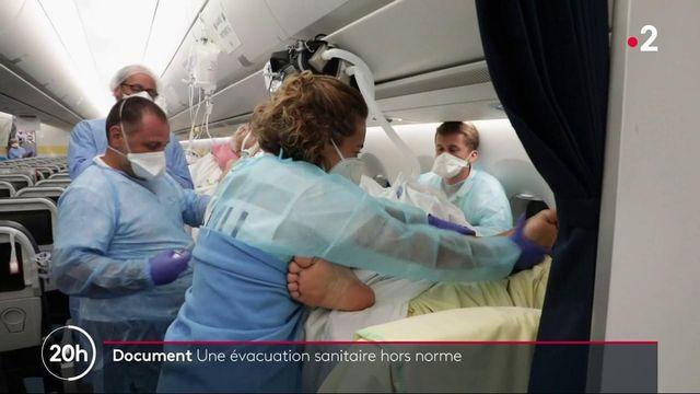 Covid-19 : une évacuation de patients hors norme entre Tahiti et Paris