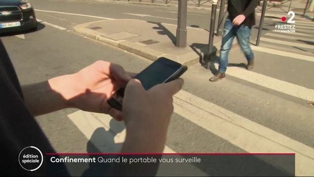 Confinement : quand le portable surveille vos déplacements