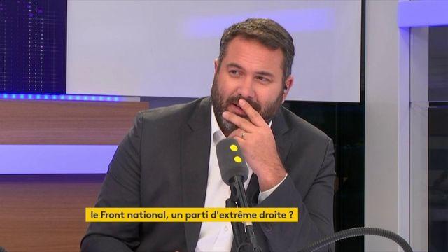 """Le Front national """"va changer de nom"""", déclare son vice-président Louis Aliot, """"pour permettre un plus large rassemblement, pas pour une histoire d'extrême-droite"""""""