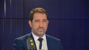 Christophe Castaner, secrétaire d'État chargé des relations avec le Parlement, délégué général de LREM. (JEAN-CHRISTOPHE BOURDILLAT / RADIO FRANCE)