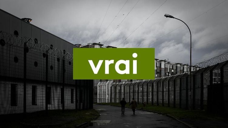 La prison de Fleury-Mérogis, la plus grande d'Europe, à une trentaine de kilomètres de Paris, le 14 décembre 2017. (PHILIPPE LOPEZ / AFP)