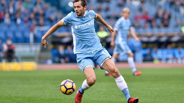 Senad Lulic, le joueur de la Lazio Rome (GIUSEPPE MAFFIA / NURPHOTO)