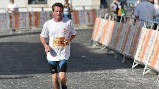Stéphane Devoret, greffé des deux poumons, aujourd'hui capable de faire des marathons. (PHILIPPE CONI)