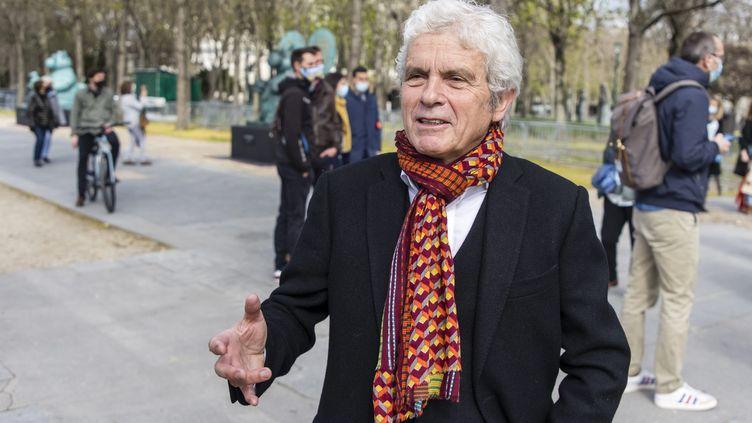 Claude Sérillon (26 mars 2021). (VINCENT ISORE / MAXPPP)
