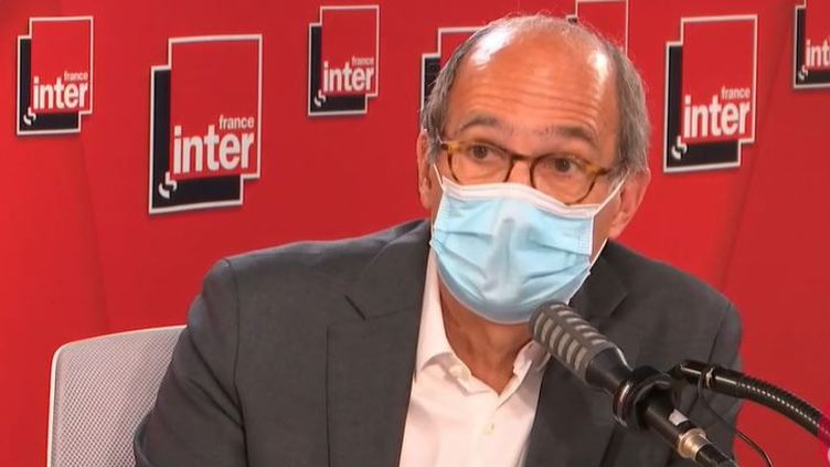 Eric Woerth était l'invité de France Inter jeudi 13 mai 2021. (FRANCEINTER / RADIOFRANCE)
