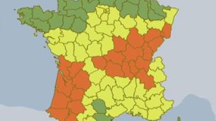 carte France (FRANCE 2)