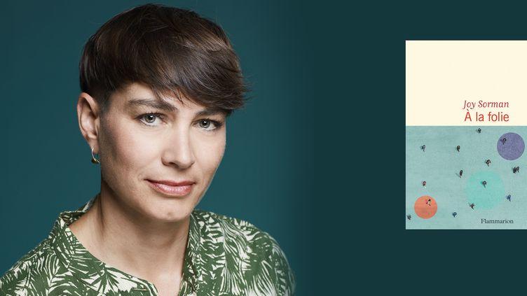 L'écrivaine Joy Sorman, 2021 (Pascal Ito / Flammarion)