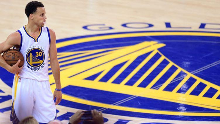 Le joueur de Golden State, Stephen Curry