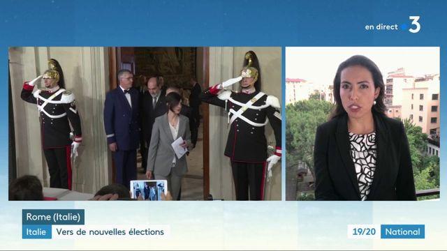 Italie : vers de nouvelles élections
