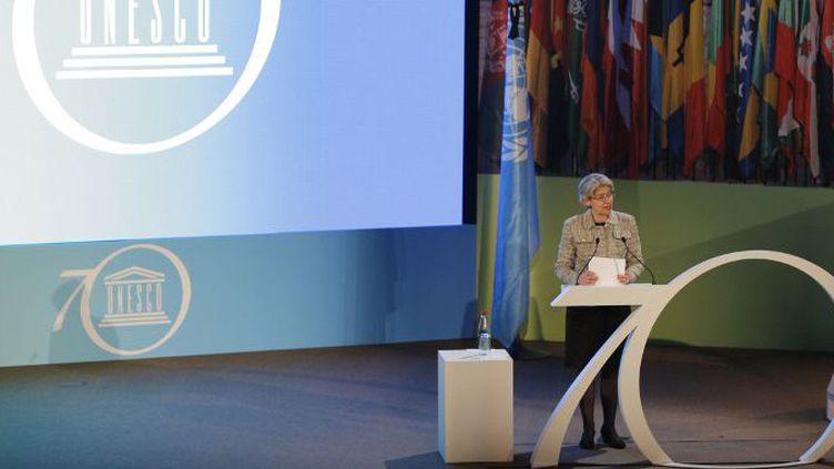 La Directrice générale de l'Unesco Irina Bukova (AFP/François Guillot)
