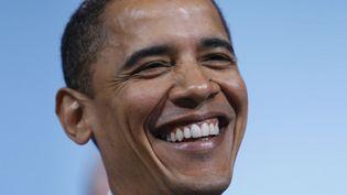 """Barack Obama a raconté avoir dansé près de Prince dans le show de David Letterman """"My Next Guest Needs No Introduction"""" sur Netflix.  (Emmanuel Dunand / AFP)"""