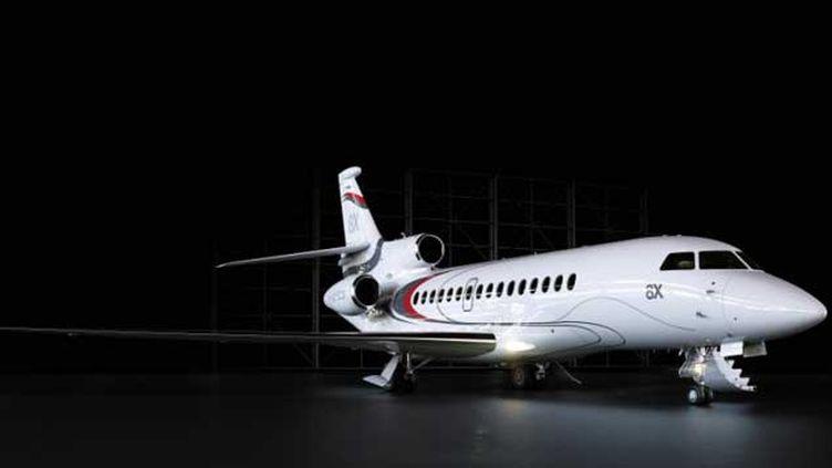 (Le Falcon 8X, nouveau jet d'affaires de Dassault Aviation  © DR)
