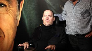 """Philippe Pozzo di Borgo lors de l'avant première du film """"Intouchables""""  (CHAUVEAU/SIPA)"""