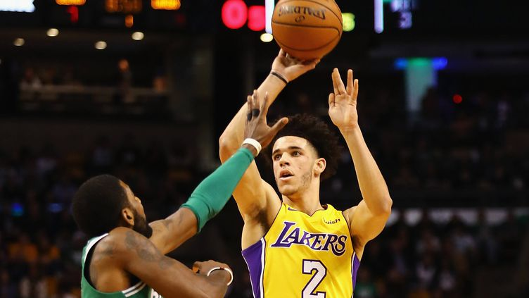 Le grand espoir des Lakers Lonzo Ball