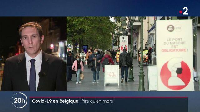 Belgique : la situation sanitaire devient de plus en plus critique