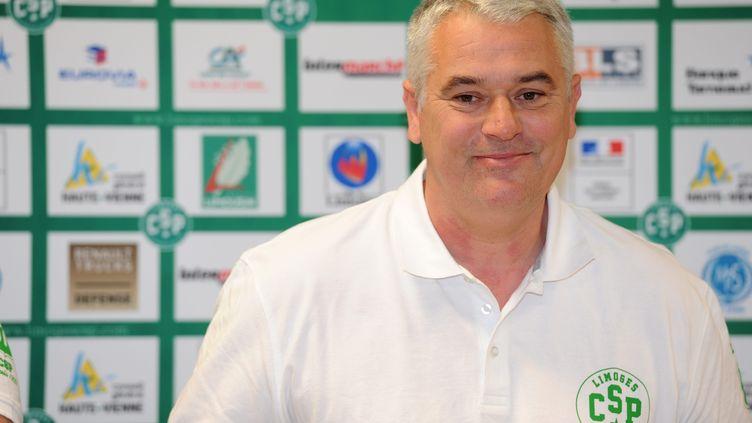 Philippe Hervé, nouveau coach du CSP Limoges (THOMAS JOUHANNAUD / MAXPPP)