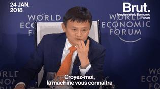 À Davos, le PDG milliardaire Jack Ma livre son secret pour que les êtres humains deviennent meilleurs (BRUT)