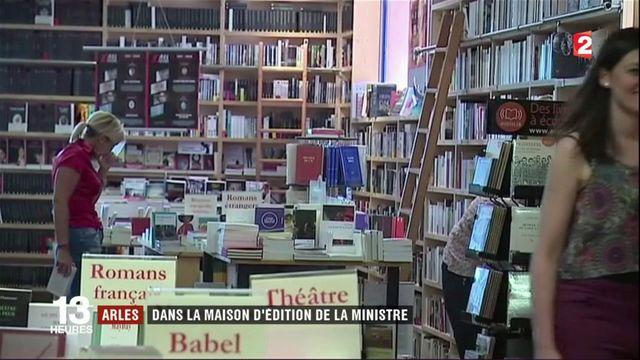 Arles : dans la maison d'édition de la ministre de la Culture