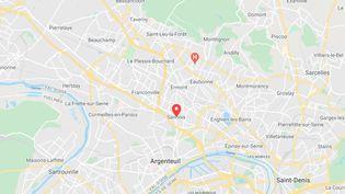 Les corps ont été retrouvés à Sannois dans le Val d'Oise. (GOOGLE MAPS)