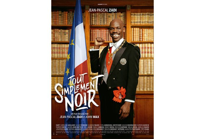 """L'affiche de """"Tout simplement noir"""" deJean-Pascal Zadi et John Wax. (Gaumont Distribution)"""