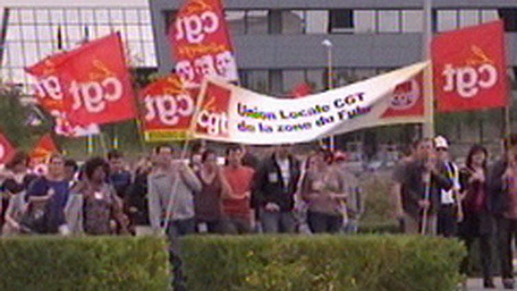 Journée de mobilisation des syndicats. (© F3)