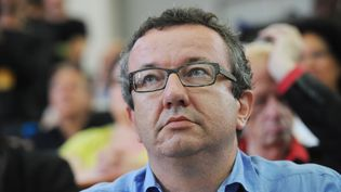 Le député frondeur Christian Paul, le 30 août 2014, à l'université d'été des socialistes, à La Rochelle, le 30 août 2014. (XAVIER LEOTY / AFP)