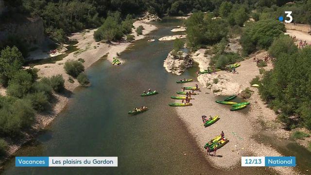 Vacances d'été : les plaisirs des gorges du Gardon