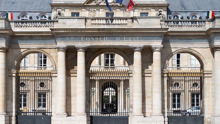 Le Conseil d'Etat, le 1er août 2021, à Paris. (GEORGES GONON-GUILLERMAS / HANS LUCAS / AFP)