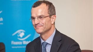 Thierry Philipponnat, le secrétaire général de l'ONG Finance Watch, le 17 octobre 2012 à Bruxelles (Belgique). (FINANCE WATCH / FLICKR)