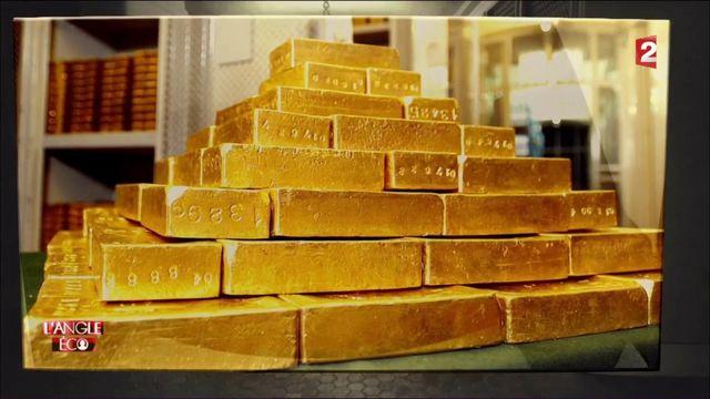 """VIDEO. """"L'Angle éco"""". Dans les réserves d'or de la Banque de France à 40 mètres sous terre..."""