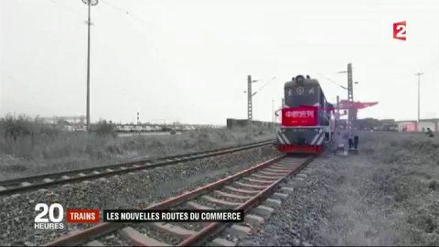 Trains : les nouvelles routes du commerce entre la Chine et l'Europe