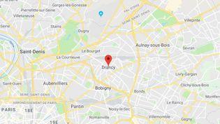 L'homme est mort lors de son interpellation à Drancy (Seine-Saint-Denis). (GOOGLE MAPS)