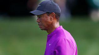 Tiger Woods, le 14 novembre 2020 à Augusta en Géorgie (Etats-Unis). (ROB CARR / GETTY IMAGES NORTH AMERICA)