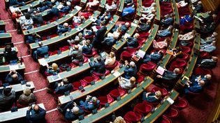 Le Sénat à Paris le 21 juillet 2021. (XOSE BOUZAS / HANS LUCAS / AFP)