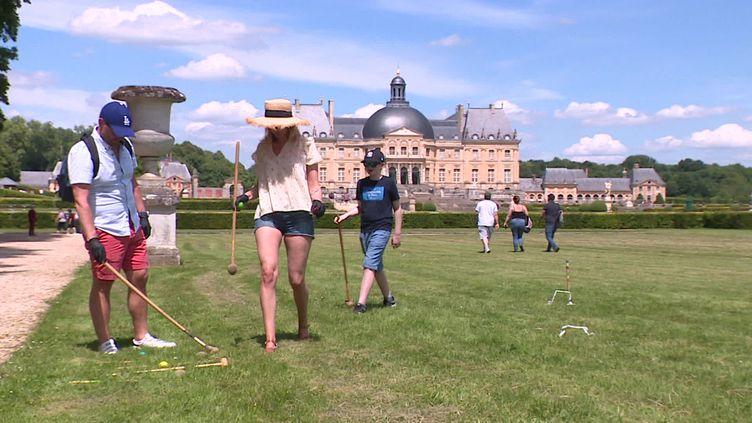 Le Château de Vaux le Vicomte. (P.Alies  / France Télévisions)