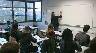 Une classe de 3e dans un collège de Pontault-Combault (Seine-et-Marne). (FRANCE 3)