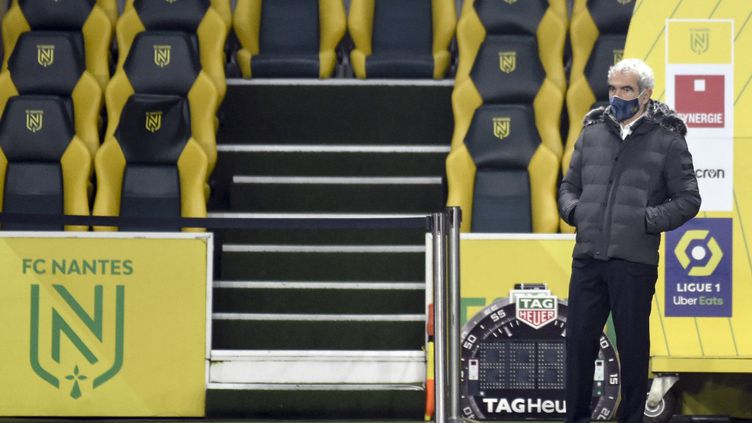 Raymond Domenech limogé, ne sera plus sur le banc nantais (SEBASTIEN SALOM-GOMIS / AFP)