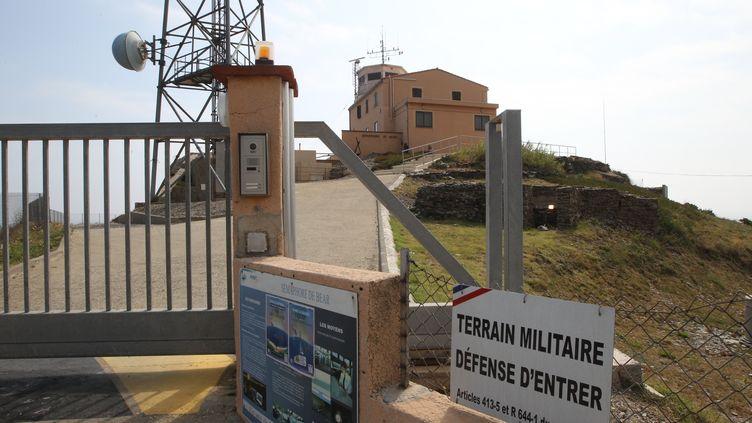 L'entrée du site du sémaphore du cap Béar à Port-Vendres (Pyrénées-Orientales), le 16 juillet 2015. (RAYMOND ROIG / AFP)