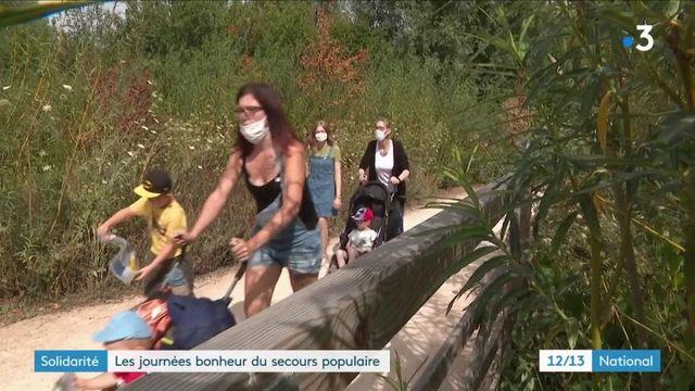 Solidarité : les journées bonheur du secours populaire