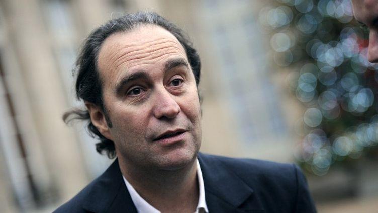Xavier Niel, fondateur d'Iliad, la maison mère de Free, le 16 décembre 2010 à l'Elysée, à Paris. (LIONEL BONAVENTURE / AFP)