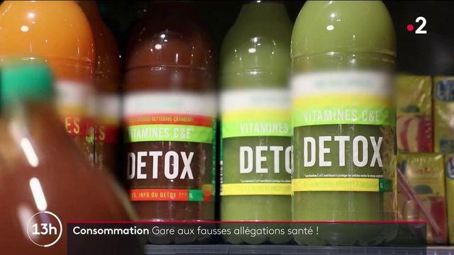 Consommation : attention aux fausses allégations santé inscrites sur les produits alimentaires